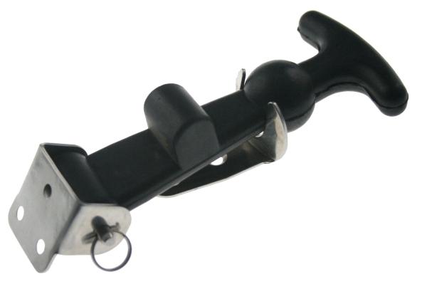 arboshop haubenverschluss verschluss stabiles gummi edelstahl 130 mm. Black Bedroom Furniture Sets. Home Design Ideas