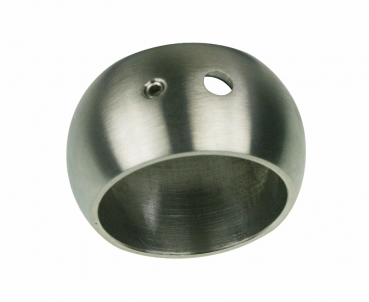 Rohrendstück Edelstahl Relingendstück 90° 42,4 mm flach ARBO-INOX
