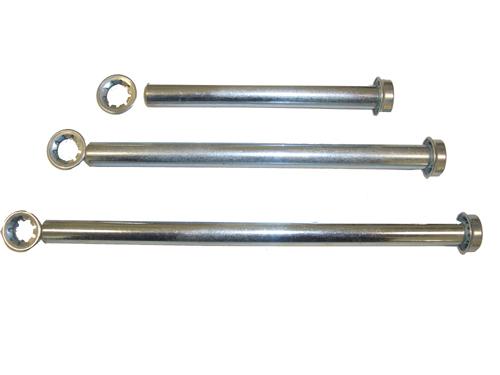 Inner Hole Diameter: 3mm 4 st/ücke M4 Premium Messing Kupplungen Durable Sechskantkupplung zum Anschlie/ßen von Spielzeugautos Roboter
