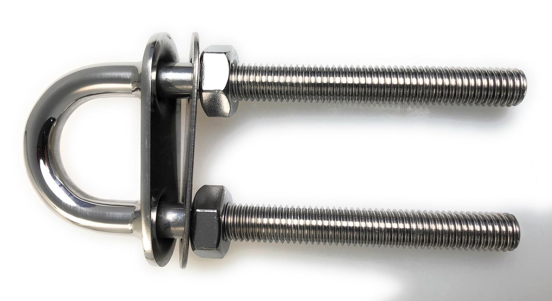 170 mm Innendurchmesser 1 300 mm Innenh/öhe BZP Packungsgr/ö/ße U-Bolzen M12 x170 mm Gewinde